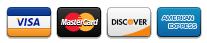 Visa / MC / Amex / Discover